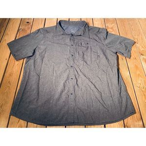 Merrell Men's Button Down Short Sleeve Shirt XXL
